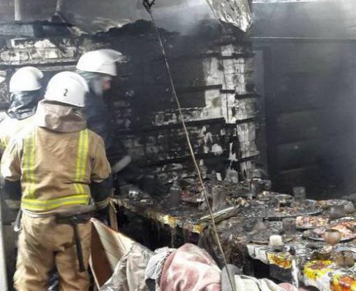 Допарились: в Харькове сгорела баня