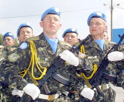 Украина отправила миротворцев в Конго