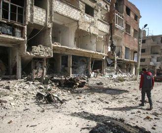 В Сирии разбомбили школу с детьми