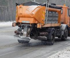 На дороги Харьковской области выехали пять роторов
