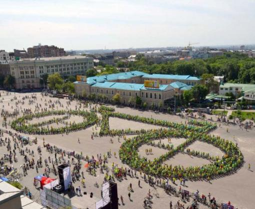 В Харькове объявили конкурс на лучшую идею флэшмоба для Велодня