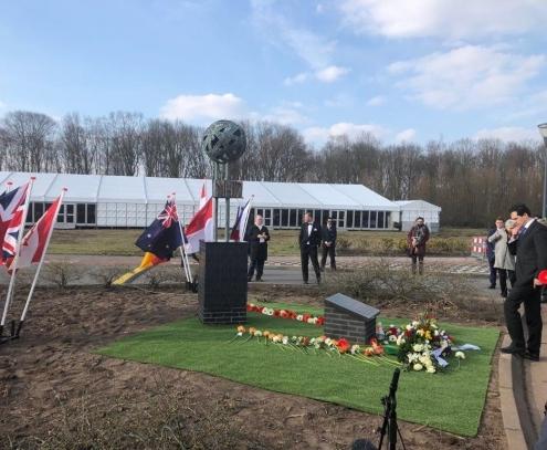 В Нидерландах открыли памятник жертвам катастрофы MH17