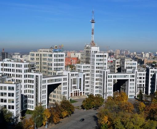 Харьков расчертят зелеными линиями
