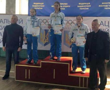 Юные бадминтонисты с медалями вернулись с чемпионата Украины