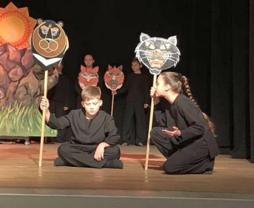 В Харькове прошла премьера детского социального спектакля