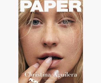Кристина Агилера показала натуральное лицо