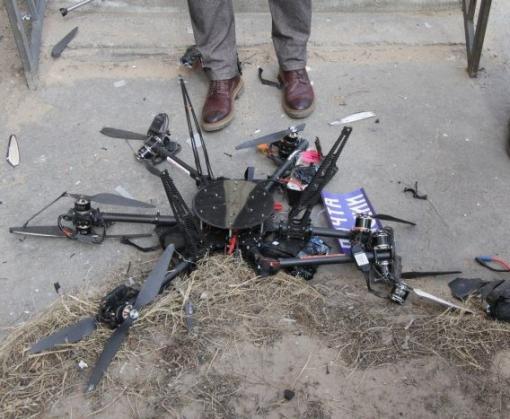Первая доставка груза «Почты России» беспилотником завершилась крушением: видео