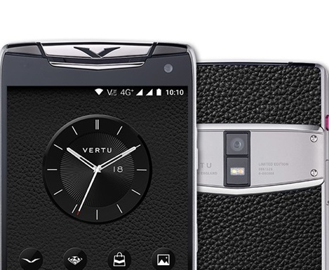 В Китае вышел смартфон Vertu Constellation X