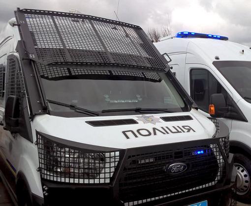 Харьковские полицейские получили новый транспорт