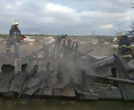 Пожар в Харькове: в частном доме взорвался газ