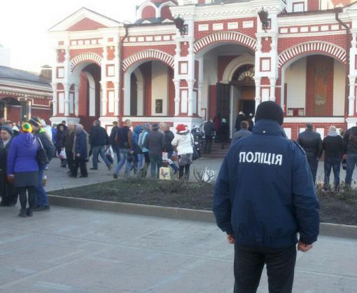 Поклонников пасхальных обрядов в Харькове насчиталось четверть миллиона