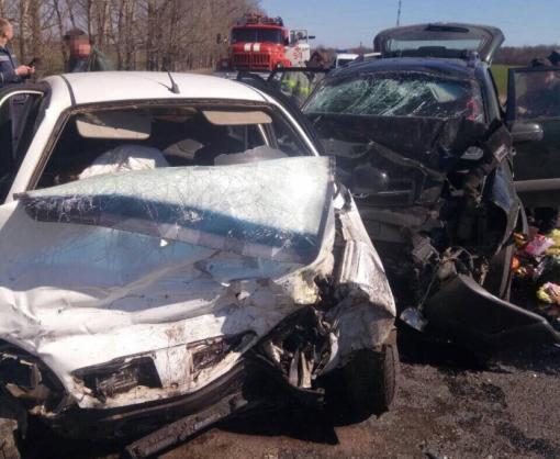 Авария под Харьковом: погибли дети