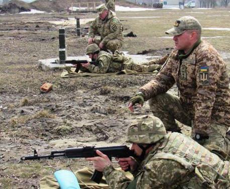 В Харьковской области прошли военные учения