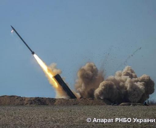 В Украине начались испытания ракетного комплекса «Ольха»