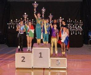 Харьковчане победили на этапе Кубка мира по акробатическому рок-н-роллу