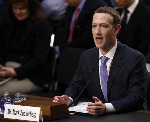 Марк Цукерберг в Сенате США покаялся за недостаточную борьбу с фейковыми новостями и защиту данных