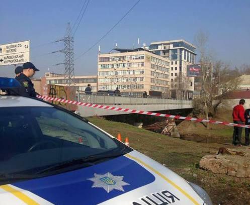 В центре Харькова в мешке нашли труп
