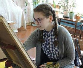 Юная художница из Харьковской области победила в международном конкурсе