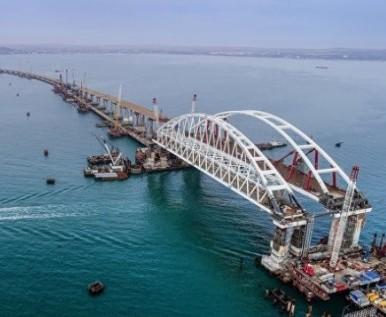 Украина готовит санкционный список компаний-строителей Керченского моста