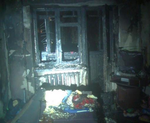 Пожар в Харькове: людей эвакуировали в противогазах