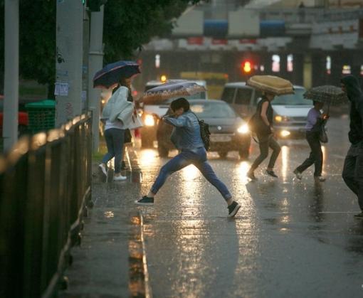 Погода в Харькове: сильный дождь