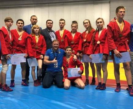 Харьковские самбисты завоевали «золото» чемпионата Европы