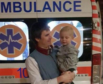 Харьковчанина наградили за спасение ребенка