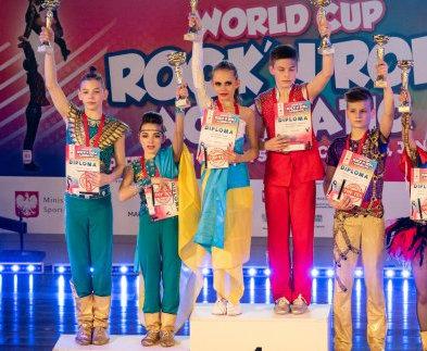 Харьковчане успешно выступили на этапе Кубка мира по акробатическому рок-н-роллу