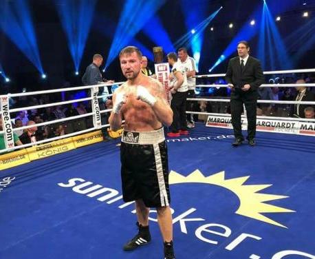 Харьковский боксер завоевал очередную победу на профессиональном ринге
