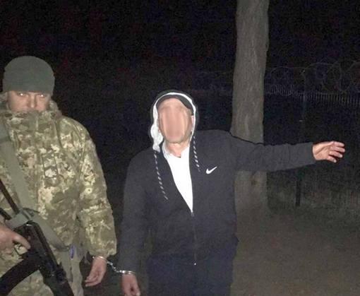 Харьковские пограничники задержали нарушителя
