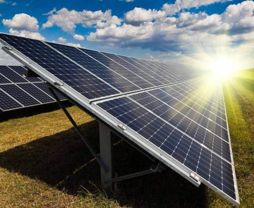 В Украине запустили крупнейшую в стране солнечную электростанцию
