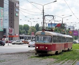 Харьковские трамваи меняют маршруты