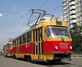 В Харькове три трамвая на две недели изменят маршрут
