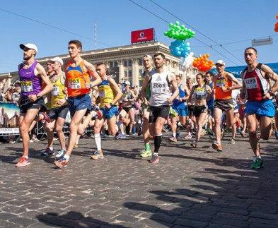 В Харькове проходит международный марафон
