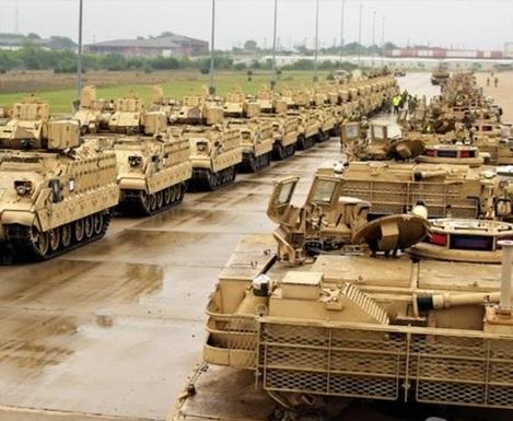 США перебрасывают в Польшу бронетанковую бригаду