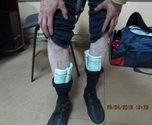 НаХарьковщине пограничники пресекли вывоз вРФ 15 миллионов рублей контрабандой
