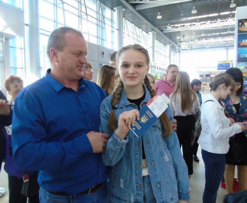 Самых успешных школьников Харьковской области отправили в Албанию