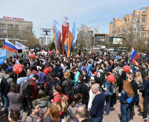 В России проходят приуроченные к инаугурации Владимира Путина протесты