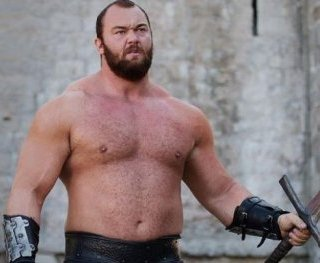 Актер из «Игры престолов» признан самым сильным мужчиной в мире