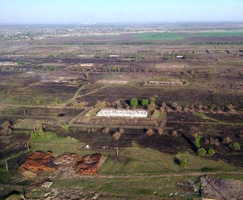 Пожар на арсенале в Балаклее окончательно ликвидирован – ГСЧС