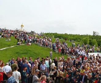 День победы в Харькове и области прошел на высоте