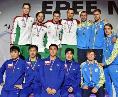 Харьковский шпажист завоевал «бронзу» этапа Кубка мира в Париже