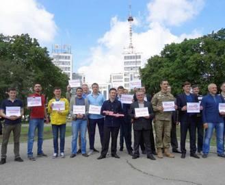 В Харькове устроили флешмоб ко Дню семьи