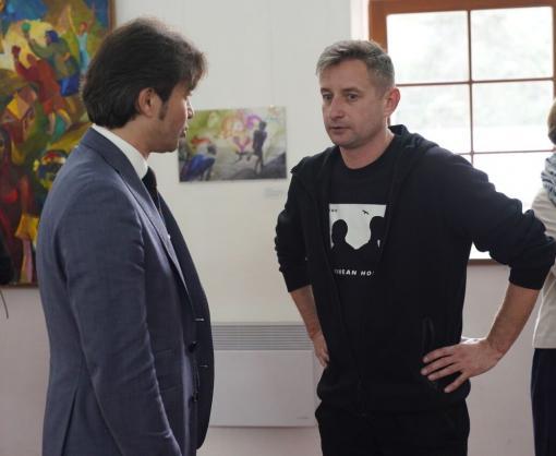 Сергей Жадан и харьковские художники стали первыми гостями форума «СлободаКульт» в Ужгороде