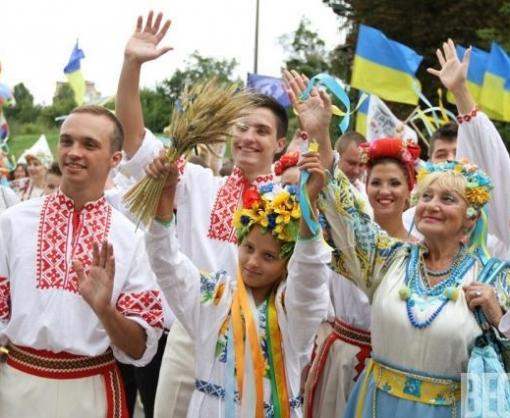 В Харькове люди в вышиванках остановят движение на Сумской