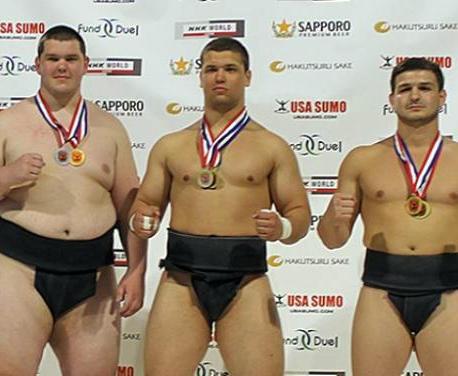 Харьковский сумоист вернулся из Америки с медалями