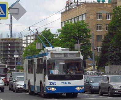 В центре Харькова троллейбусам изменят маршрут