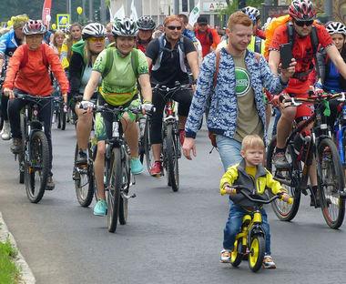 Велодень в Харькове: на улицы выехали тысячи людей
