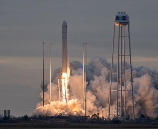 В США запустили космическую ракету, которую помогала строить Украина