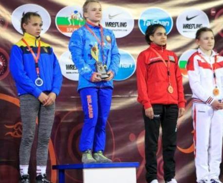Харьковчанка стала вице-чемпионкой Европы по борьбе